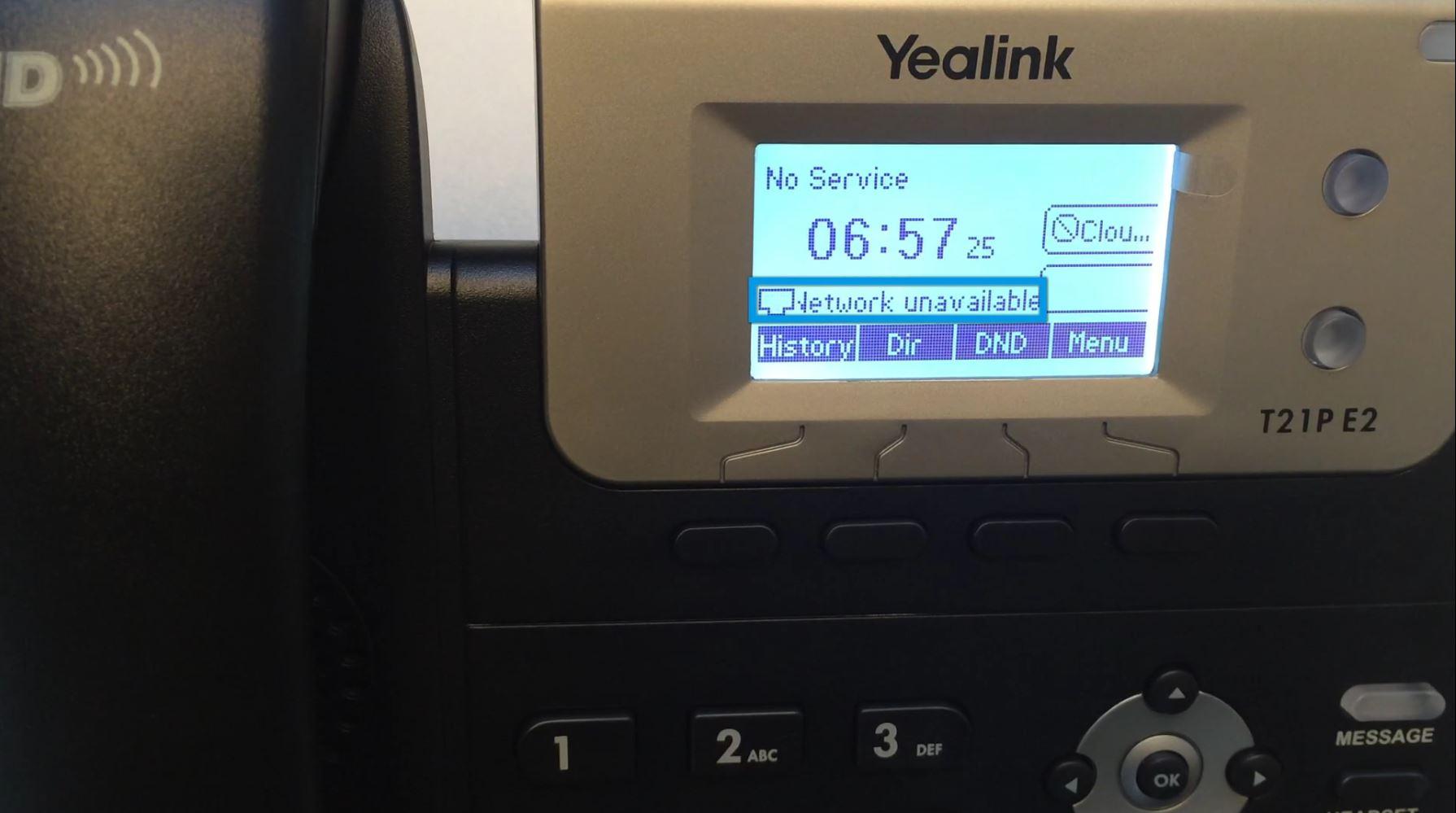Error No Service