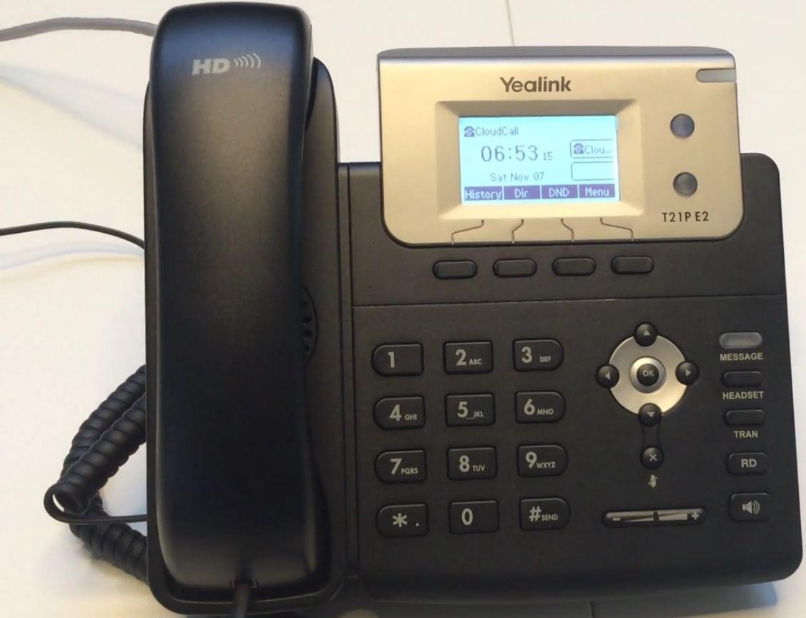 Telefóno bien instalado