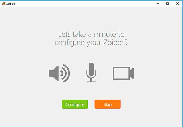 configuracion zoiper Windows audio