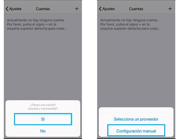 configurar zoiper iphone advertencia
