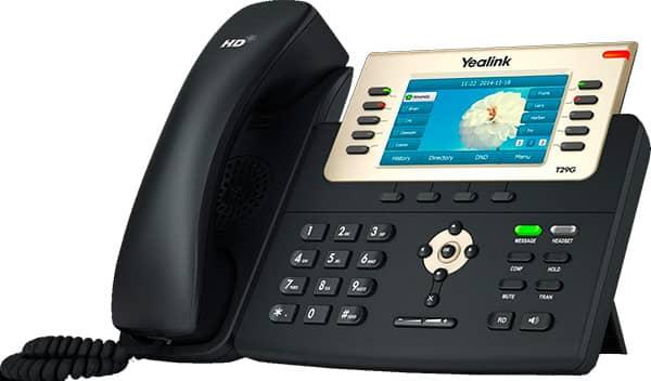 Telefono T29G para recepcionista