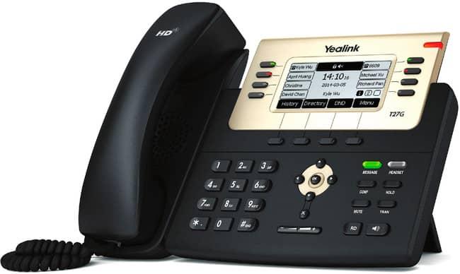 Telefono T27G para recepcionista