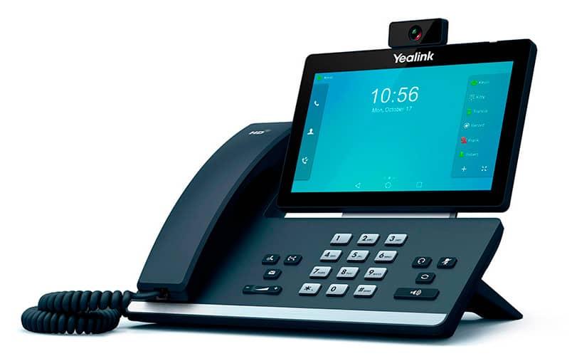 Telefono T58V videoconferencia